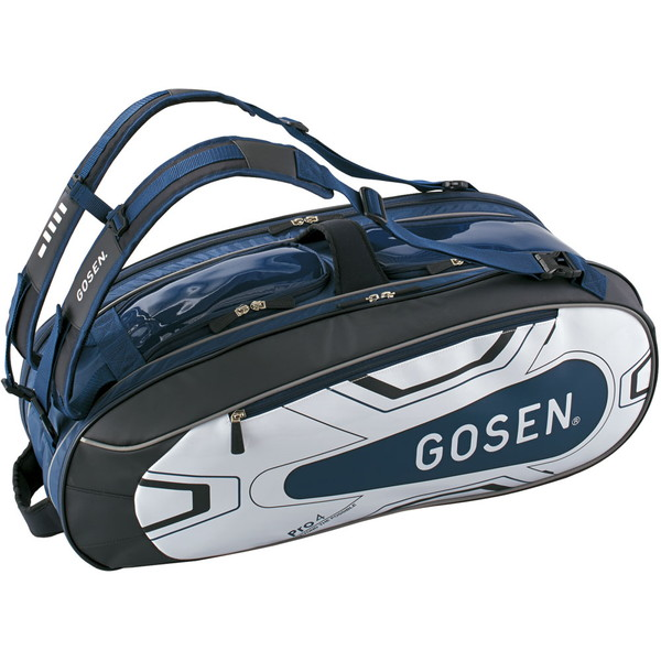 GOSEN(ゴーセン) ラケットバッグ Pro4(ラケット4本入) テニス バッグ BA18PR4G-17
