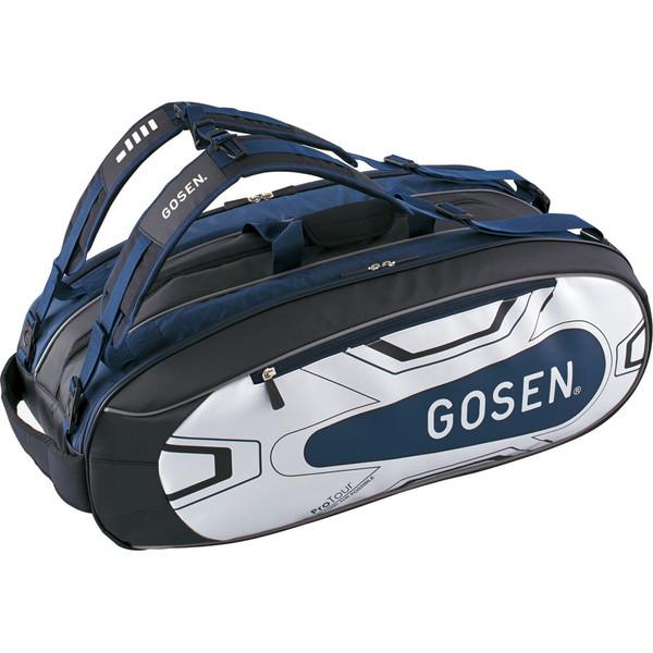 GOSEN(ゴーセン) ラケットバッグ ProTour(ラケット9本入) テニス バッグ BA18PRTG-17