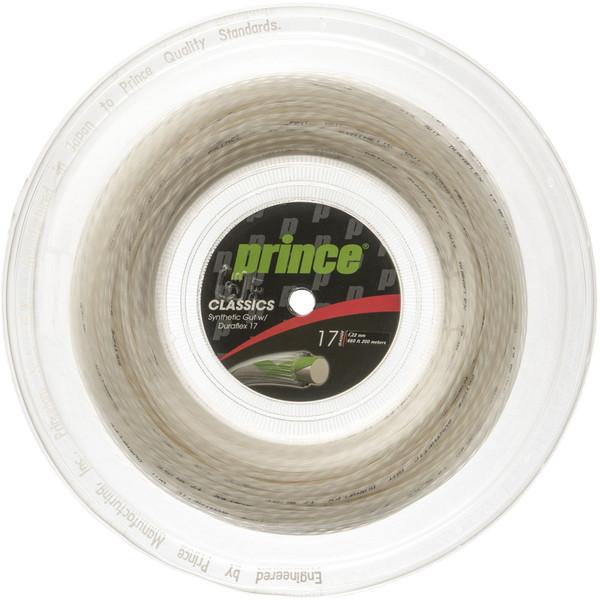 Prince(プリンス) シンセティックガットDF17 ホワイト 200M リール テニス ガット・ラバー 7J50101