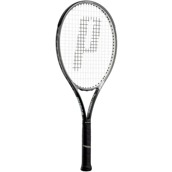 Prince(プリンス) エンブレム 107 XR ガンメタ×ホワイト テニス ラケット 7TJ015
