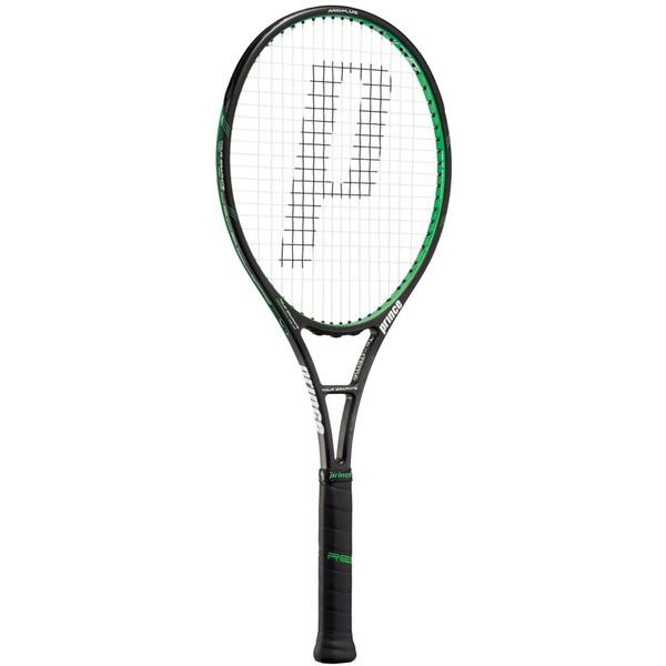 今なら送料負担キャンペーン中(北海道・沖縄除く) Prince(プリンス) ツアーグラファイト100 XR ブラック×グリーン テニス ラケット 7TJ017