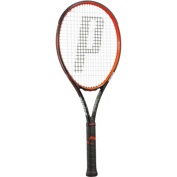 Prince(プリンス) 硬式テニス用ラケット(フレームのみ) ビースト100 300g ブラック×ビーストレッド テニス ラケット 7TJ061