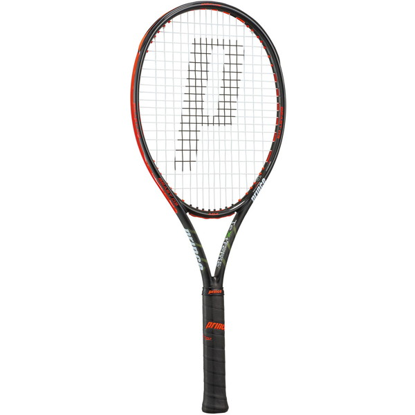 Prince(プリンス) 硬式テニス用ラケット(フレームのみ) ビースト オースリー 104 ブラック×ビーストレッド テニス ラケット 7TJ063