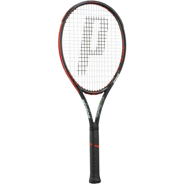 今なら送料負担キャンペーン中(北海道・沖縄除く) Prince(プリンス) 硬式テニス用ラケット ビースト オースリー 100 280g ブラック×ビーストレッド テニス ラケット 7TJ065