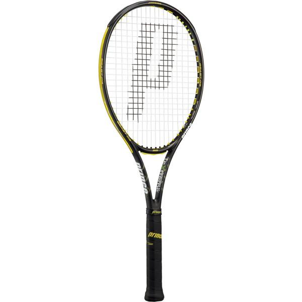 今なら送料負担キャンペーン中(北海道・沖縄除く) Prince(プリンス) 硬式テニス用ラケット(フレームのみ) ビースト オースリー 98 ブラック×イエロー テニス ラケット 7TJ066