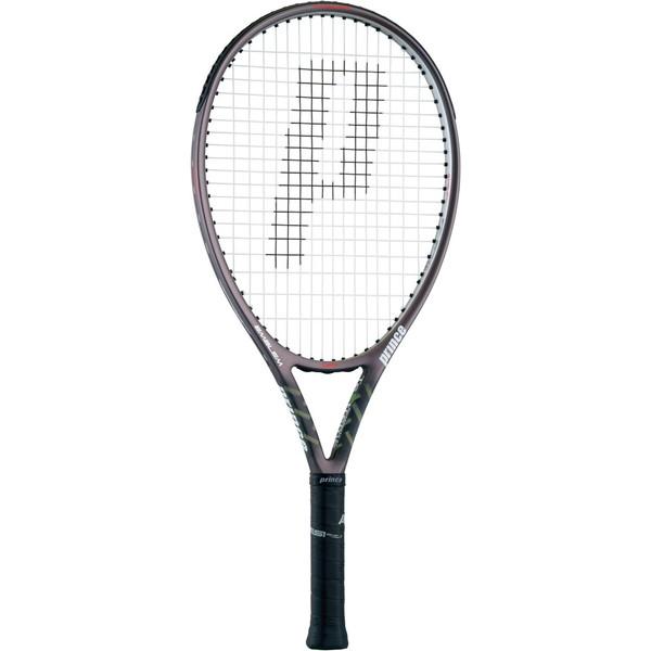 今なら送料負担キャンペーン中(北海道・沖縄除く) Prince(プリンス) 硬式テニス用ラケット(フレームのみ) エンブレム 120 ガンメタリック×シルバー テニス ラケット 7TJ068