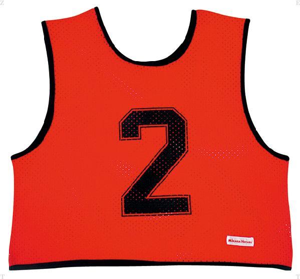 ミカサ(MIKASA) ゲームジャケット ハーフタイプ10枚セット レッド GJH10R