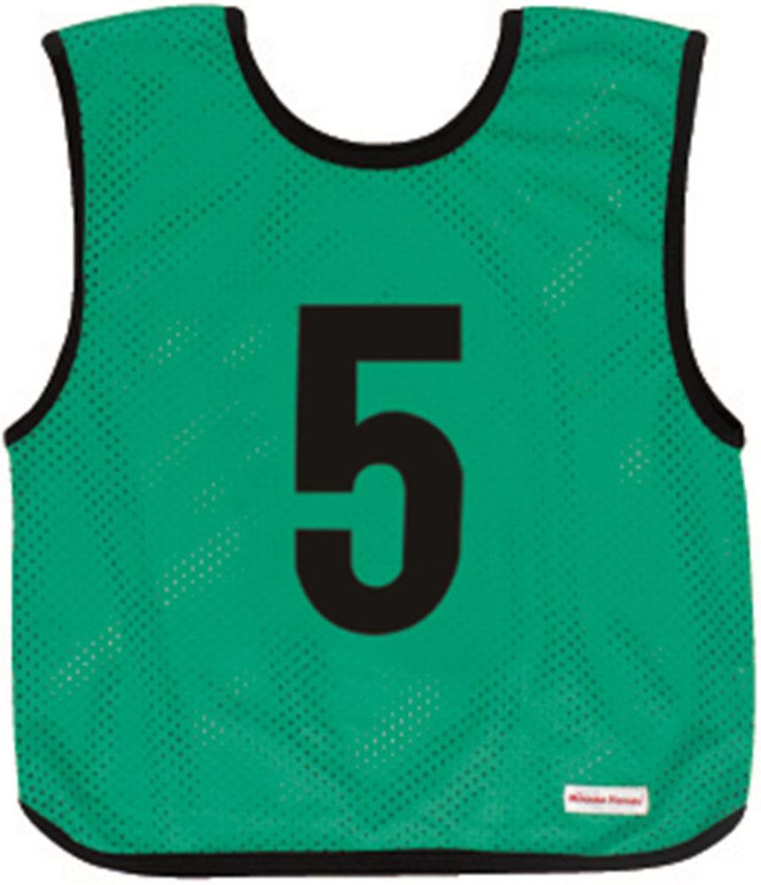 ミカサ(MIKASA) ゲームジャケットジュニア用 10枚組 グリーン GJJ210G ジュニア ボーイズ