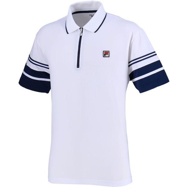FILA(フィラ) ポロシャツ メンズ テニスウェア テニス ポロシャツ VM5370-01 メンズ