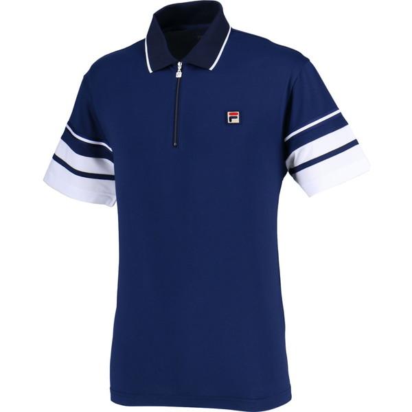 FILA(フィラ) ポロシャツ メンズ テニスウェア テニス ポロシャツ VM5370-20 メンズ