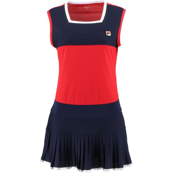 FILA(フィラ) ウィメンズ ワンピース テニス ウェア VL2141-11 レディース