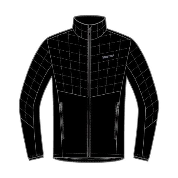 マーモット(Marmot) Featherless Hybrid Jacket メンズ TOMMGL7400-001 ジャケット