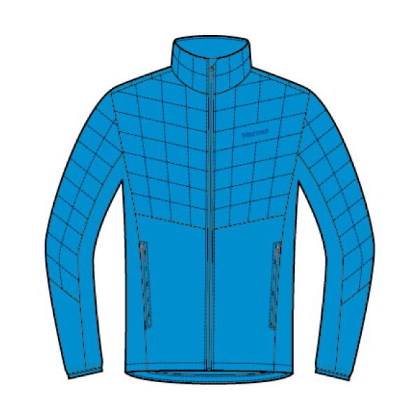 マーモット(Marmot) Featherless Hybrid Jacket メンズ TOMMGL7400-3695 ジャケット