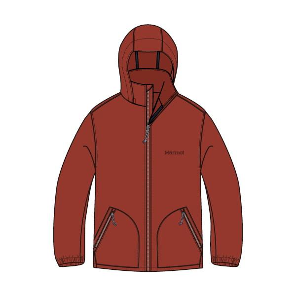 マーモット(Marmot) Ws Reside Wind Jacket レディース TOWMJK11-BRC ジャケット
