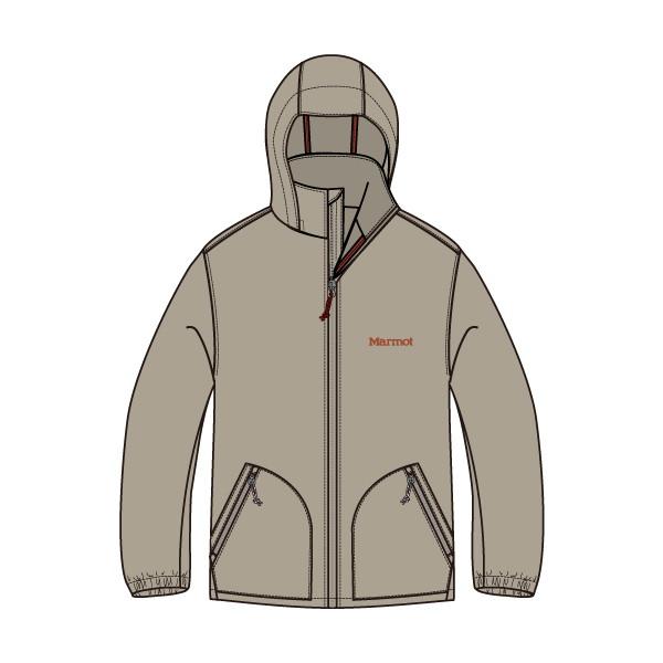 マーモット(Marmot) Ws Reside Wind Jacket レディース TOWMJK11-SBG ジャケット