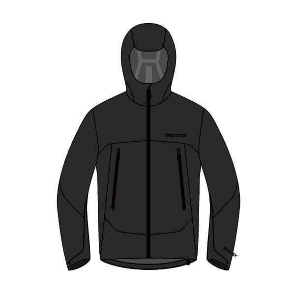 マーモット(Marmot) Zp Comodo Jacket メンズ TOMLJK00-BLK ジャケット