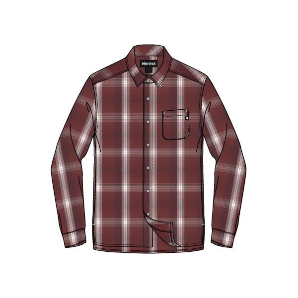 【本物保証】 マーモット(Marmot) Wool Check Check L メンズ/S Shirt メンズ TOMMJB77-WIN シャツ シャツ, 双葉郡:f2d7babe --- canoncity.azurewebsites.net
