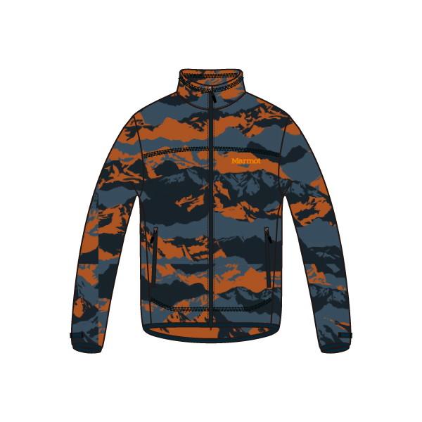マーモット(Marmot) Mountain Fleece Jacket メンズ TOMMJL41-ABR フリースジャケット
