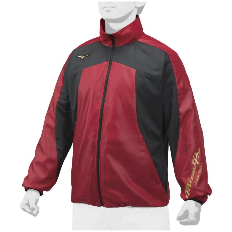 MIZUNO(ミズノ) ウインドブレーカーシャツ 野球 アパレル ユニセックス 男女兼用 12JE8W8062