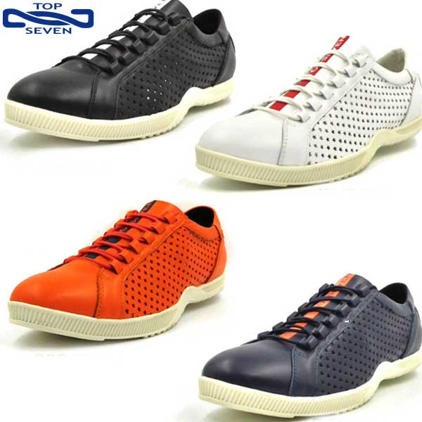 トップセブン(TOP SEVEN) TS-5521 メンズ レディース ユニセックス 男女兼用 シューズ 靴 スニーカー 革
