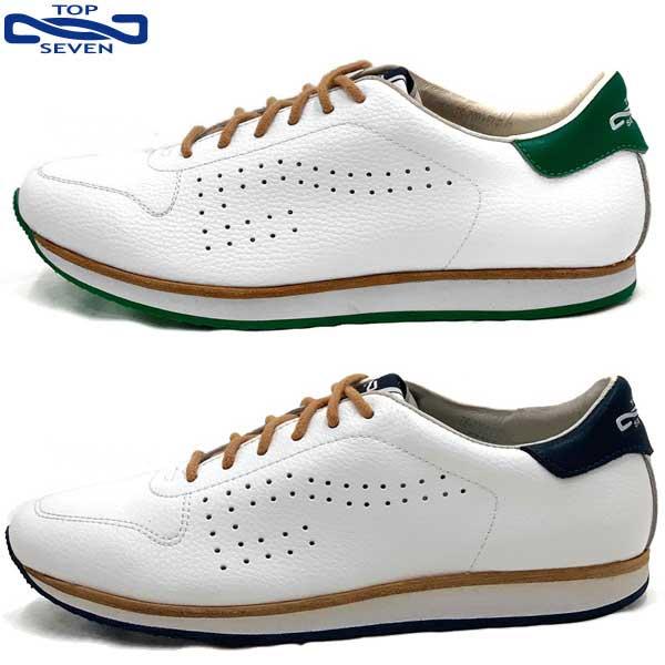 トップセブン(TOP SEVEN) TS-7703 メンズ レディース ユニセックス 男女兼用 シューズ 靴 スニーカー 革