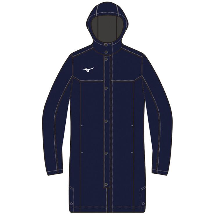 MIZUNO(ミズノ) 中綿ロングボアコート トレーニング アパレル ユニセックス 男女兼用 32JE855514