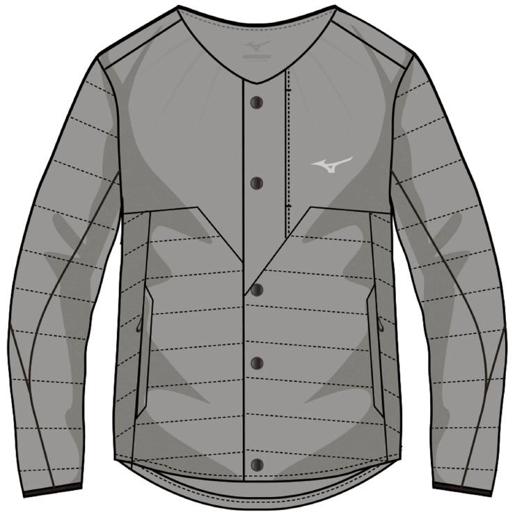 MIZUNO(ミズノ) サーモブリッドインサレーションジャケット アウトドア アパレル メンズ A2ME855805
