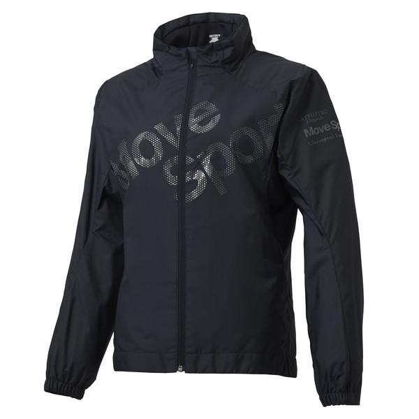 デサント(DESCENTE)COSMIC THERMO スタンドジャケット レディース DMWMJF30-BK