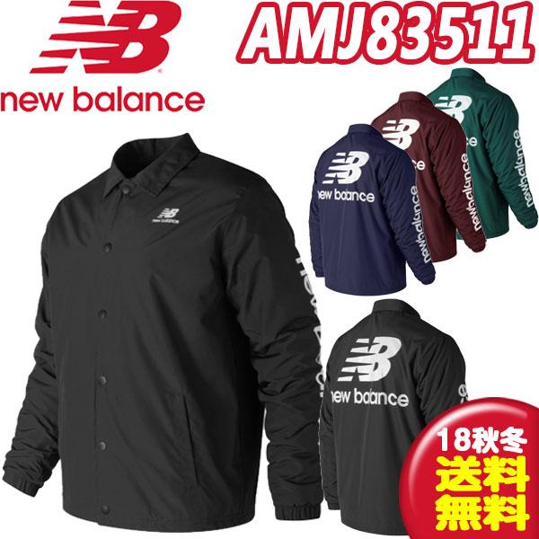 ニューバランス(new balance) ウィンターコーチジャケット AMJ83511 メンズ ウェア(あす楽即納)