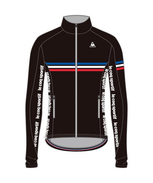 ルコック(le coq sportif) アーレンベルグ L/Sジャージ Arenberg Long Sleeve Jersey メンズ QCMMGC60-BLK