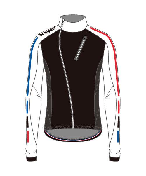 ルコック(le coq sportif) テクノブレンボンディングジャケット Technobrane Bonding Jacket メンズ QCMMGC62-WHT