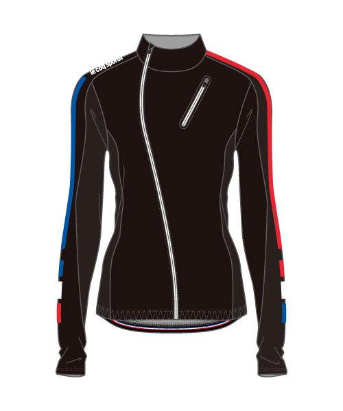ルコック(le coq sportif) テクノブレンボンディングジャケット Technobrane Bonding Jacket レディース QCWMGC62-BLK