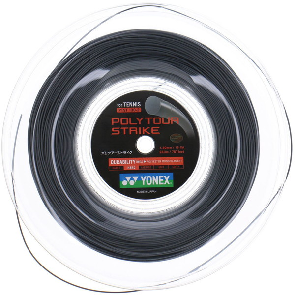 Yonex(ヨネックス) ポリツアーストライク130(240mロール) テニス ガット PTST1302-405
