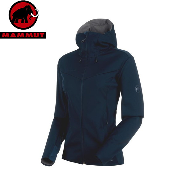 マムート(MAMMUT) Ultimate V SO Hooded Jacket Women 1011-00072-50099 ジャケット レディース