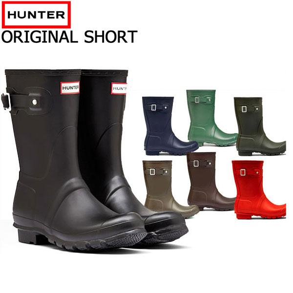 ハンターブーツ(HUNTER) hunter レインブーツ オリジナル ショート(SHORT)長靴 【レディース】 (RO)【正規品】