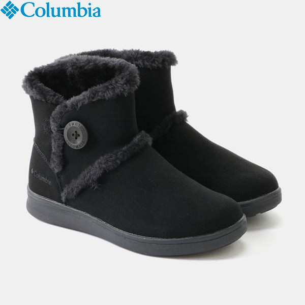 Columbia(コロンビア) ベアフットマウンテン2ウォータープルーフ レディース YL3963-010 防水シューズ ブーツ