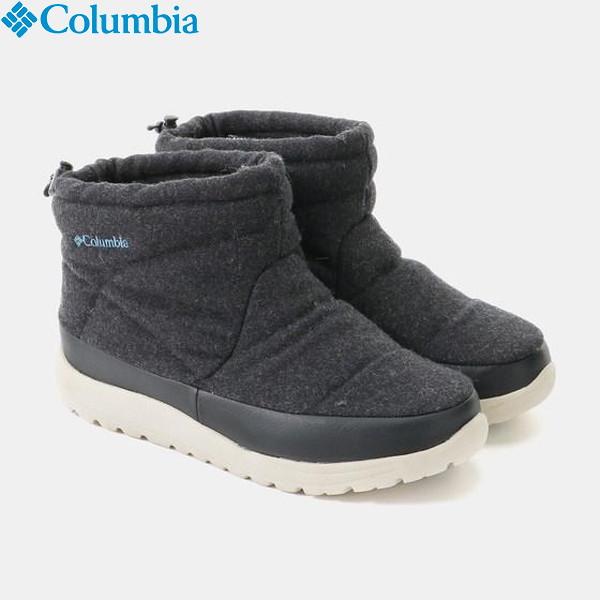 Columbia(コロンビア) スピンリールミニブーツウォータープルーフオムニヒート メンズ レディース 男女兼用 YU3972-010 防水防水シューズ ブーツ
