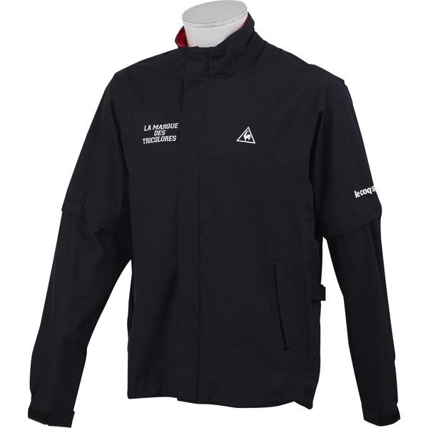 ルコックゴルフ(le coq sportif GOLF) レインウェア QGMNJH00W-BK00 ブラック