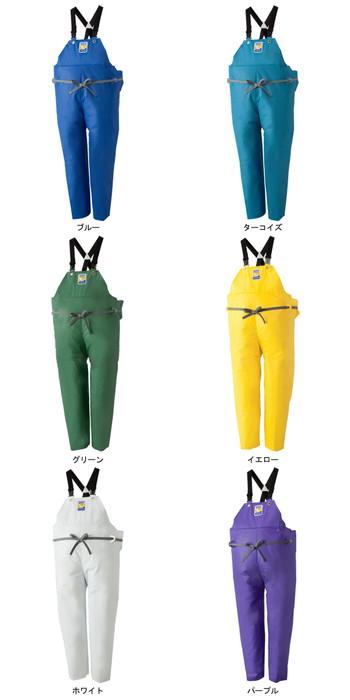 LOGOS ロゴス マリンエクセル 胸当付ズボン膝当て付(サスペンダー式) ブルー 4L 12063159