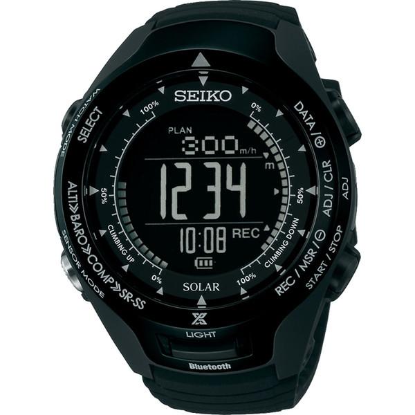 SEIKO(セイコー)時計 プロスペックアルピニストブラック SBEL005