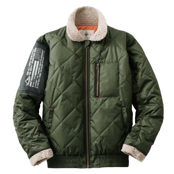 LOGOS ロゴス 防寒ジャケット グレイグ LLサイズ カーキ(アウター) 30390571