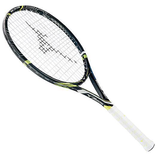 大特価!MIZUNO ミズノ テニスラケット【フレームのみ】 キャリバー 103 09:ブラック(63jth53209)