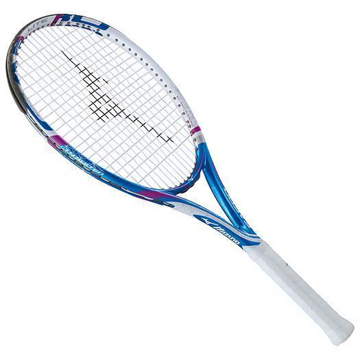 大特価!MIZUNO ミズノ テニスラケット【フレームのみ】 Fエアロ ライト ブルー/ホワイト(63jth60427)