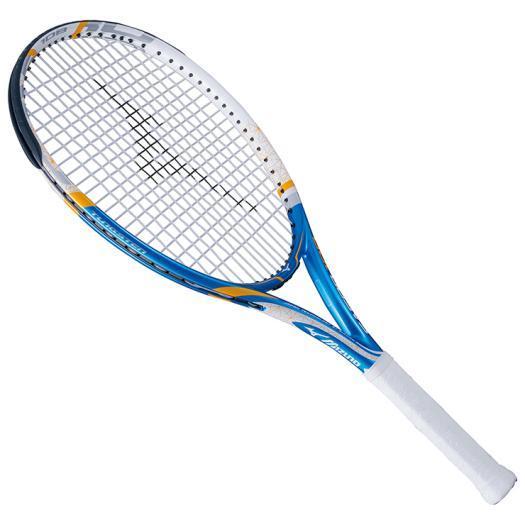 大特価!MIZUNO ミズノ テニスラケット【フレームのみ】 Fエアロ 108 ブルー/ホワイト(63jth60527)