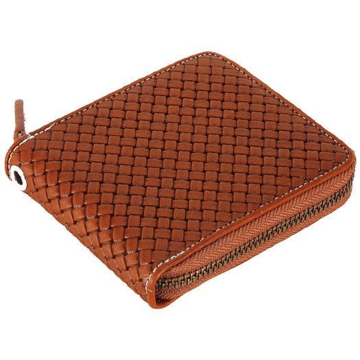 MIZUNO ミズノ グラブ革ファスナー付二つ折り財布(型押し)(野球) [ 1GJYG01300 ]