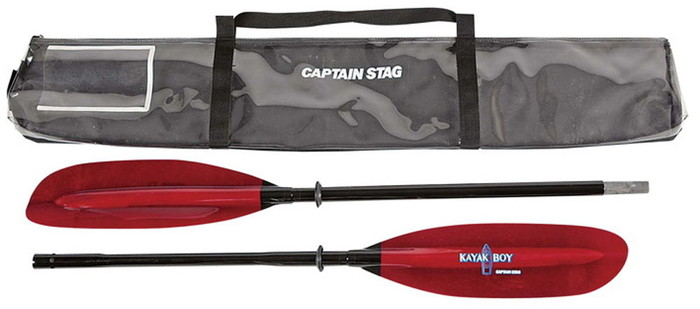 CAPTAINSTAG(キャプテンスタッグ) カヤックボーイツーリングパドル2ピース220MC2202 MC2202
