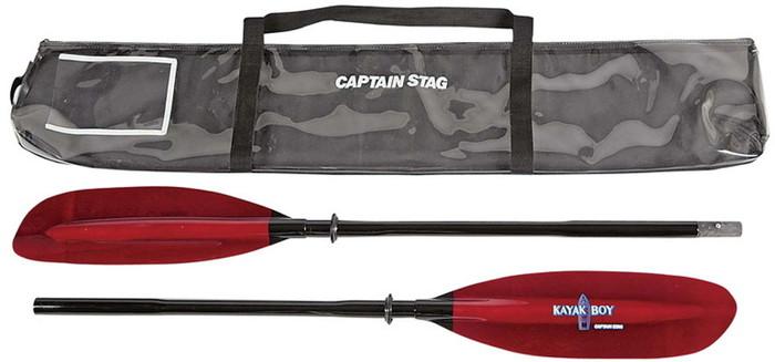 CAPTAINSTAG(キャプテンスタッグ) カヤックボーイツーリングパドル2ピース230MC2203 MC2203