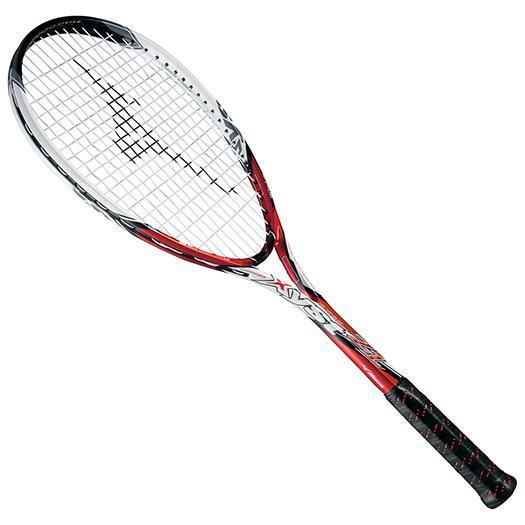 MIZUNO ミズノ ソフトテニスラケット【フレームのみ】 ジスト Z1 62:レッド/ホワイト(63jtn51162)