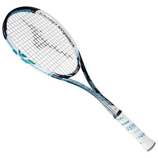 大特価!MIZUNO ミズノ ソフトテニスラケット【フレームのみ】 ディープインパクト Zコンプ 24:ジェムブルー(63jtn55024)