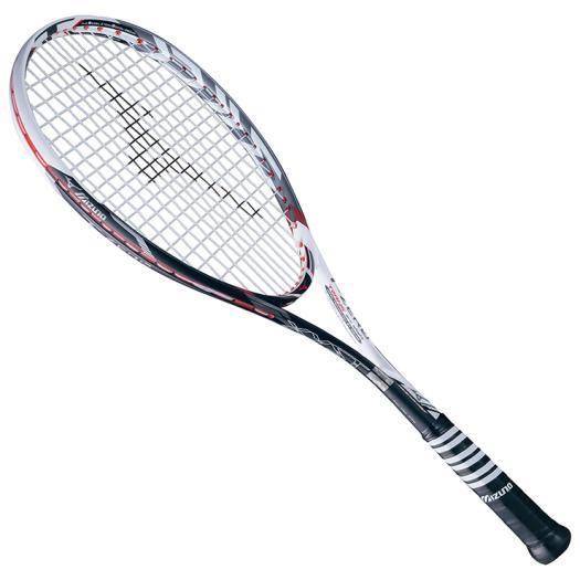 【※返品交換不可】大特価!MIZUNO ミズノ ソフトテニスラケット【フレームのみ】 ジスト Tゼロ ホワイト/ブラック(63jtn63101)